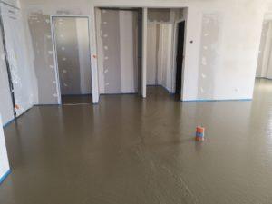 Chape liquide à Sénissiat 01590